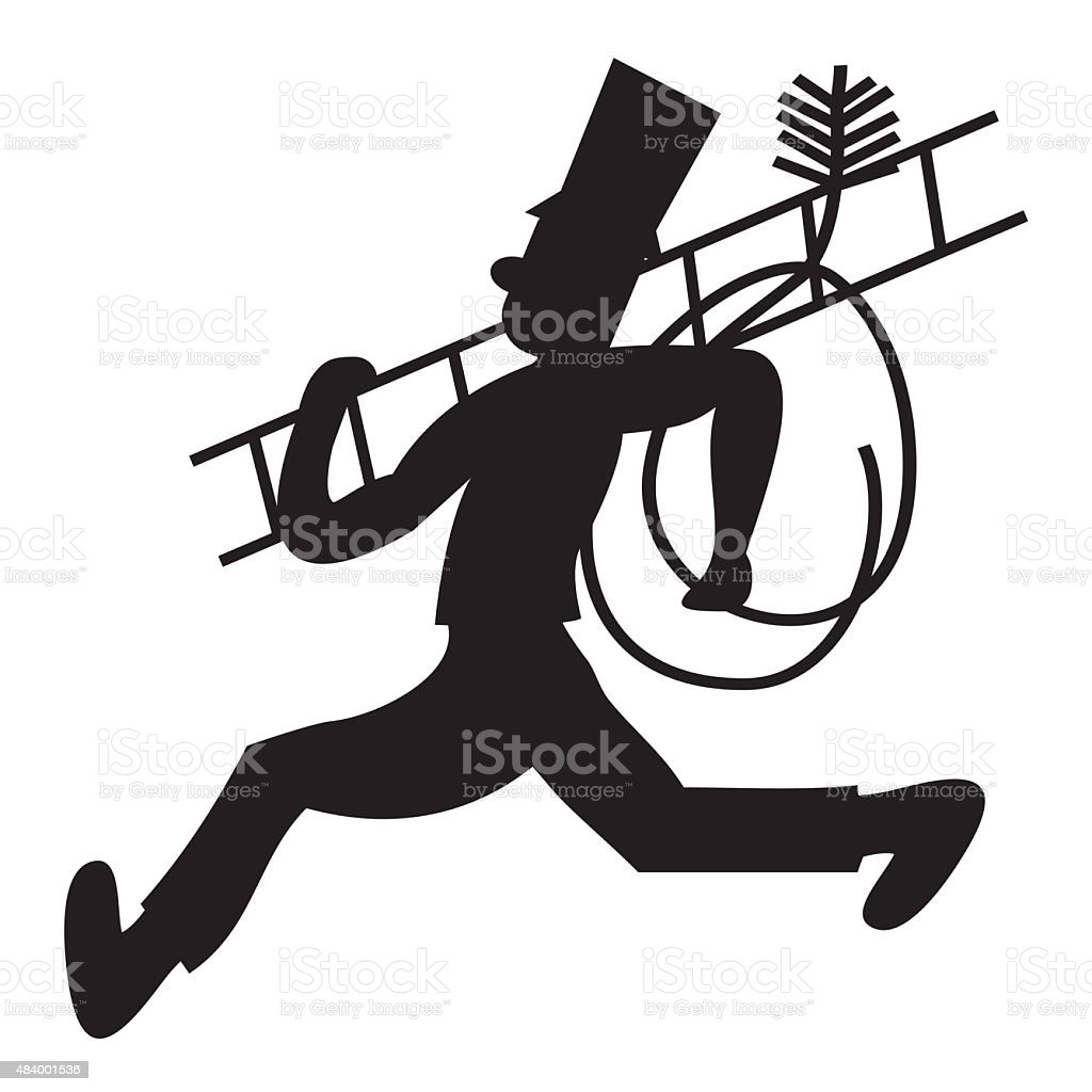 chimney sweeprun stock vector art 484001536 istock rh istockphoto com Vector Art Free Vector Sports Logos