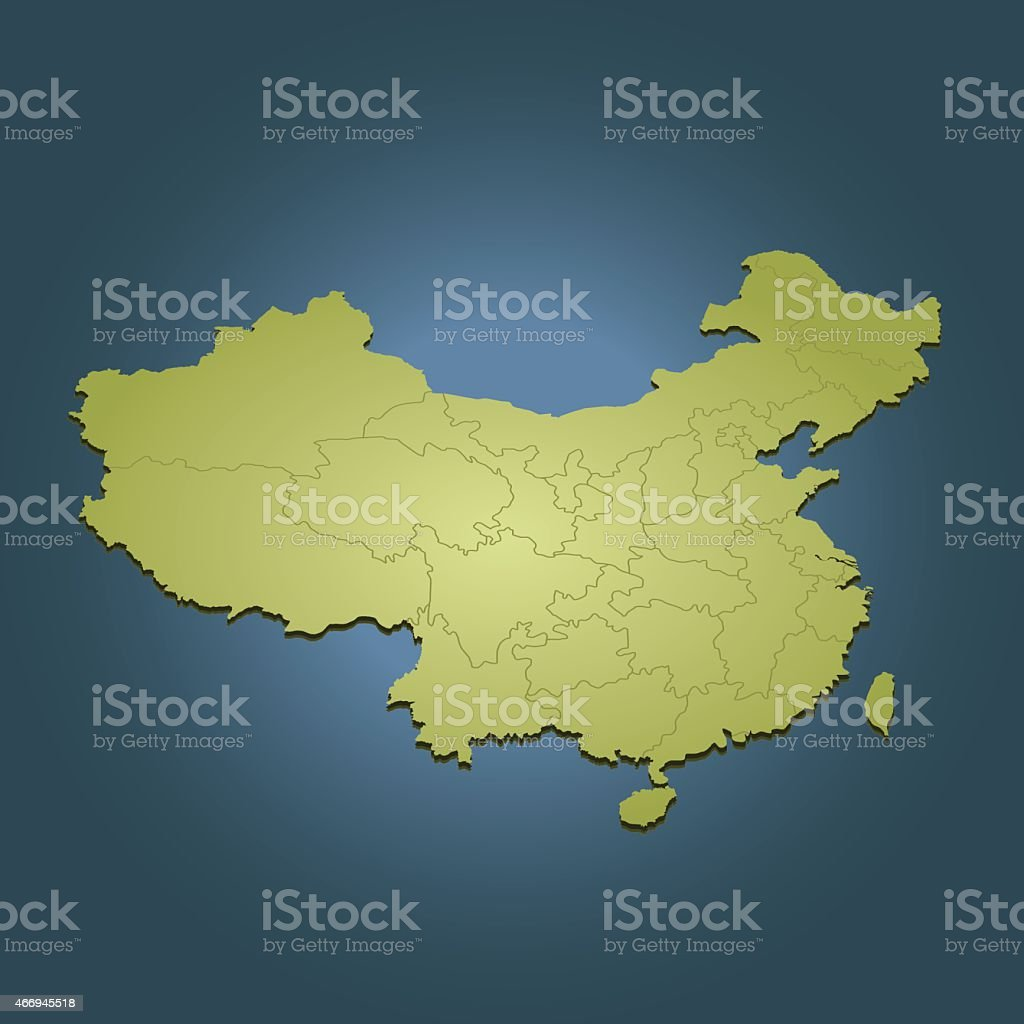 China green travel perspective map on dark blue background stock china green travel perspective map on dark blue background royalty free china green travel perspective gumiabroncs Choice Image