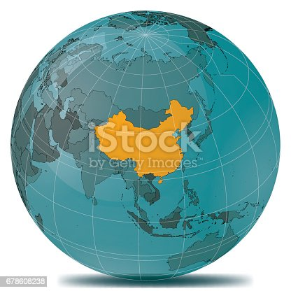 istock China Highlight Planet Earth 678608238
