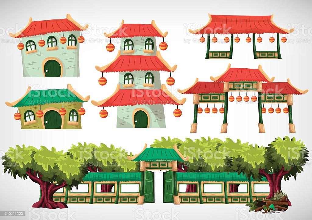 China Haus Objekte Für Das Spiel Und Unterhaltung. Lizenzfreies China Haus  Objekte Für Das Spiel