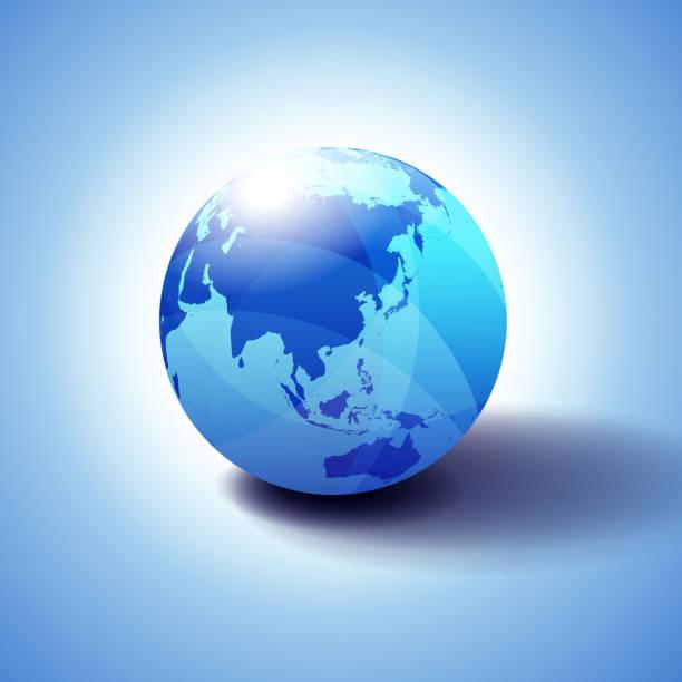 中国韓国日本太平洋、地球のアイコンの 3 d イラスト背景 - 地球 日本点のイラスト素材/クリップアート素材/マンガ素材/アイコン素材