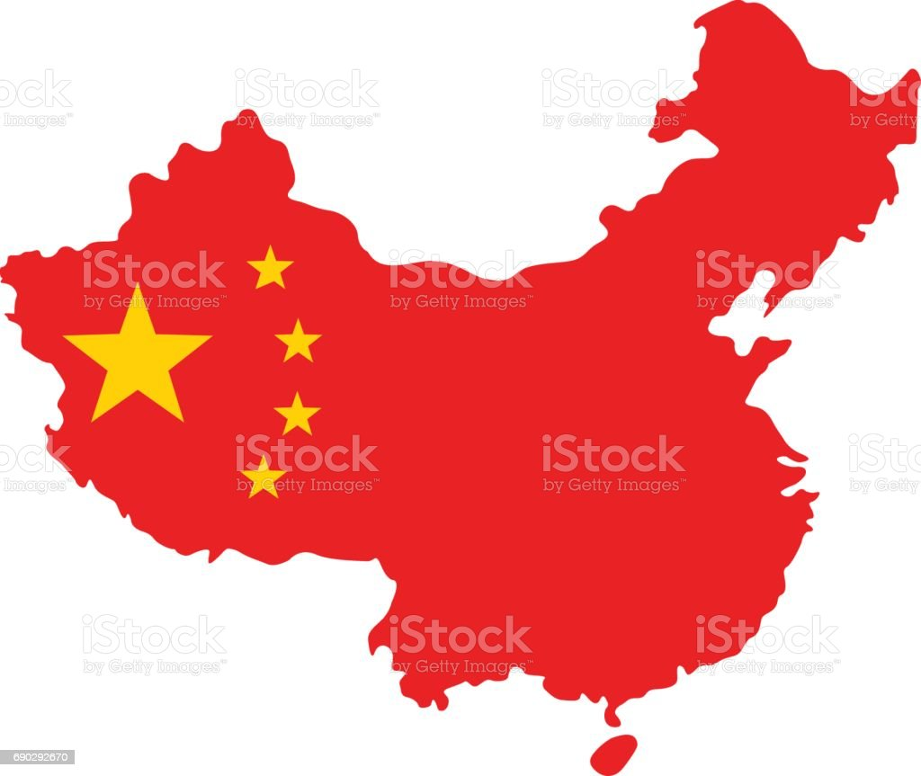 Royalty Free China Map Clip Art, Vector Images & Illustrations
