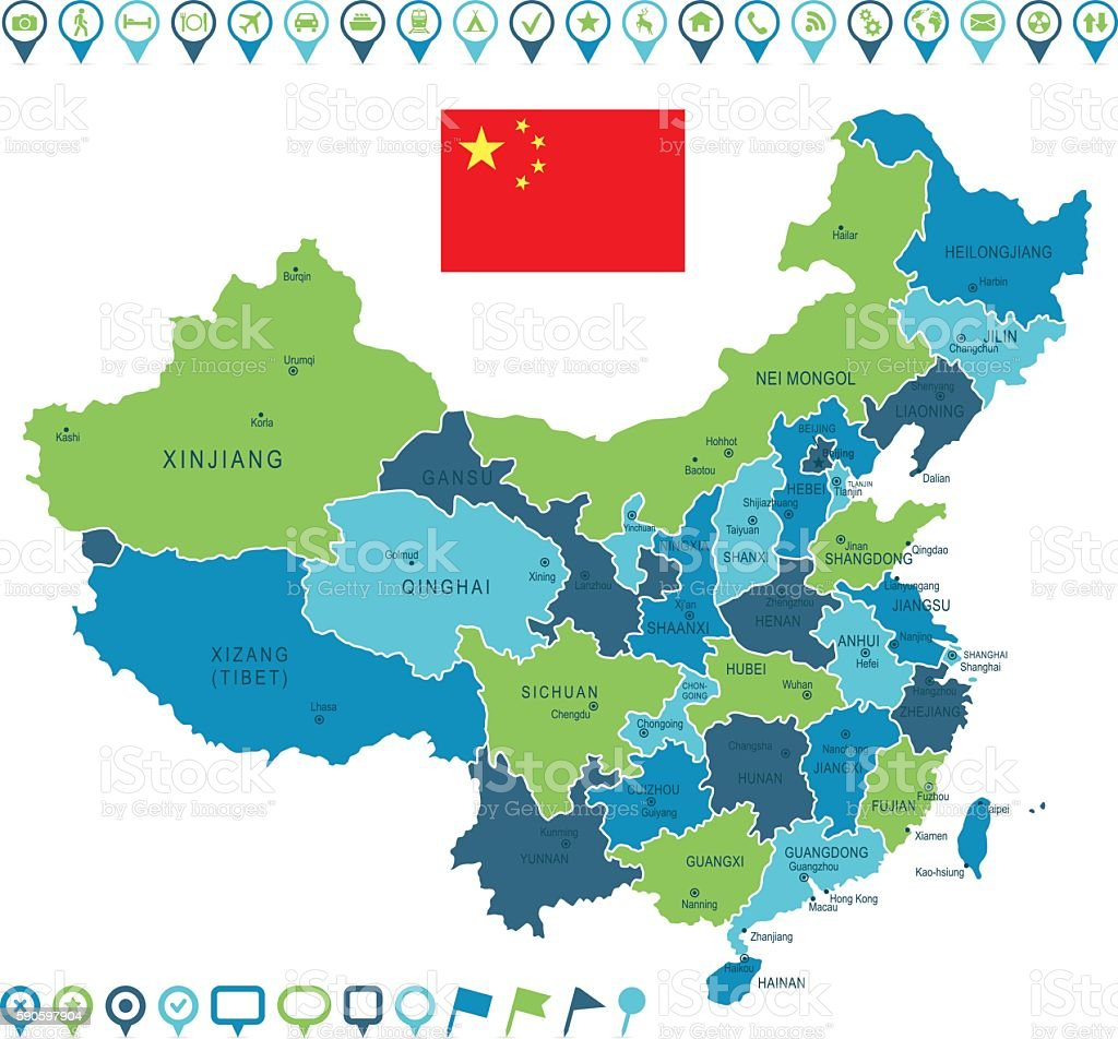 China Map Images on