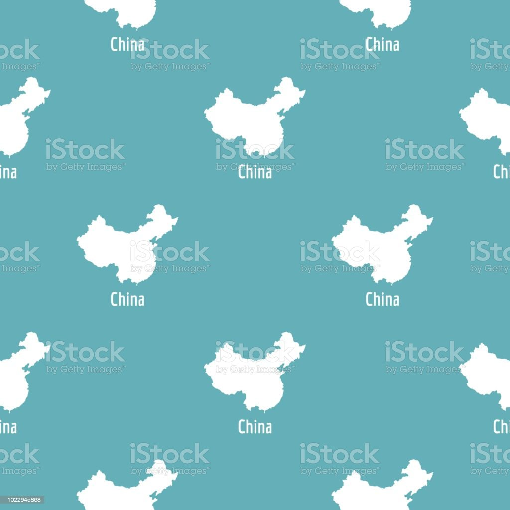 China Map In Black Vector Simple Stock Vector Art More Images Of