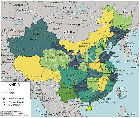 China map with selectable territories vector illustracion libre de china map with selectable territories vector illustracion libre de derechos 612406980 istock gumiabroncs Choice Image