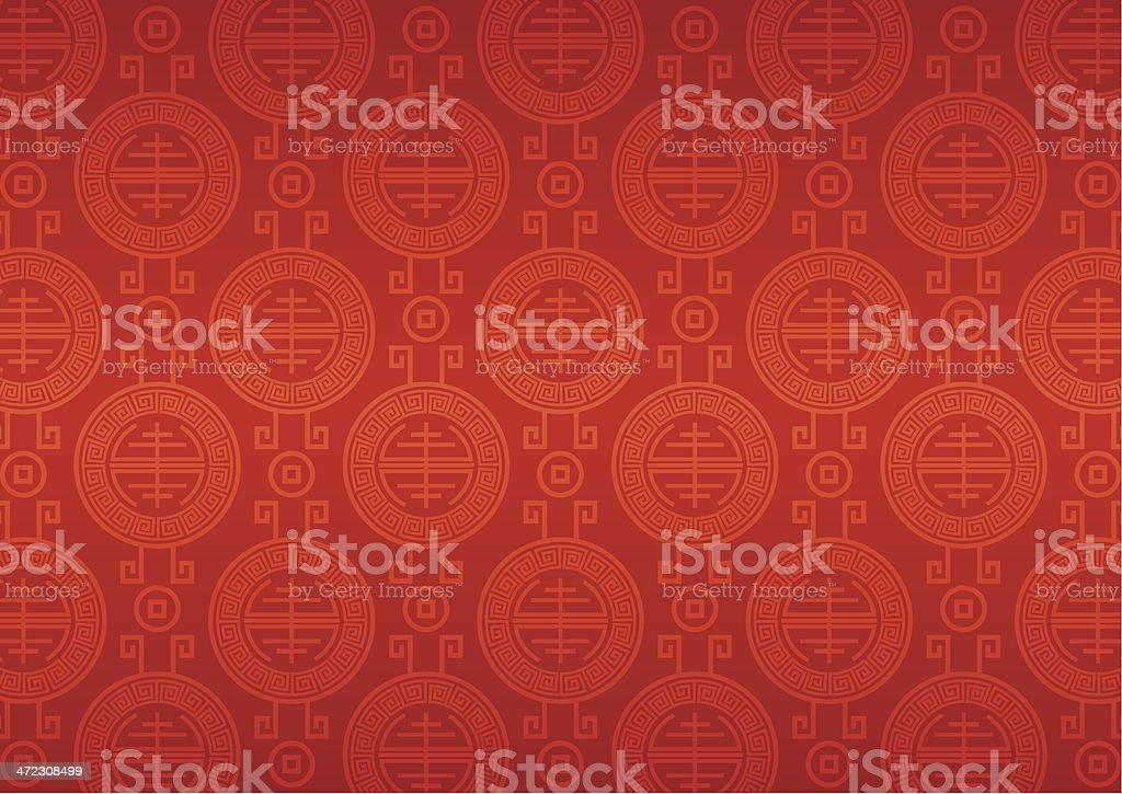 China motif pattern vector art illustration