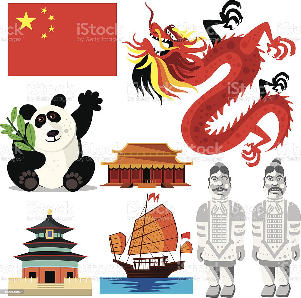 china symbols stock vector art amp more images of asia