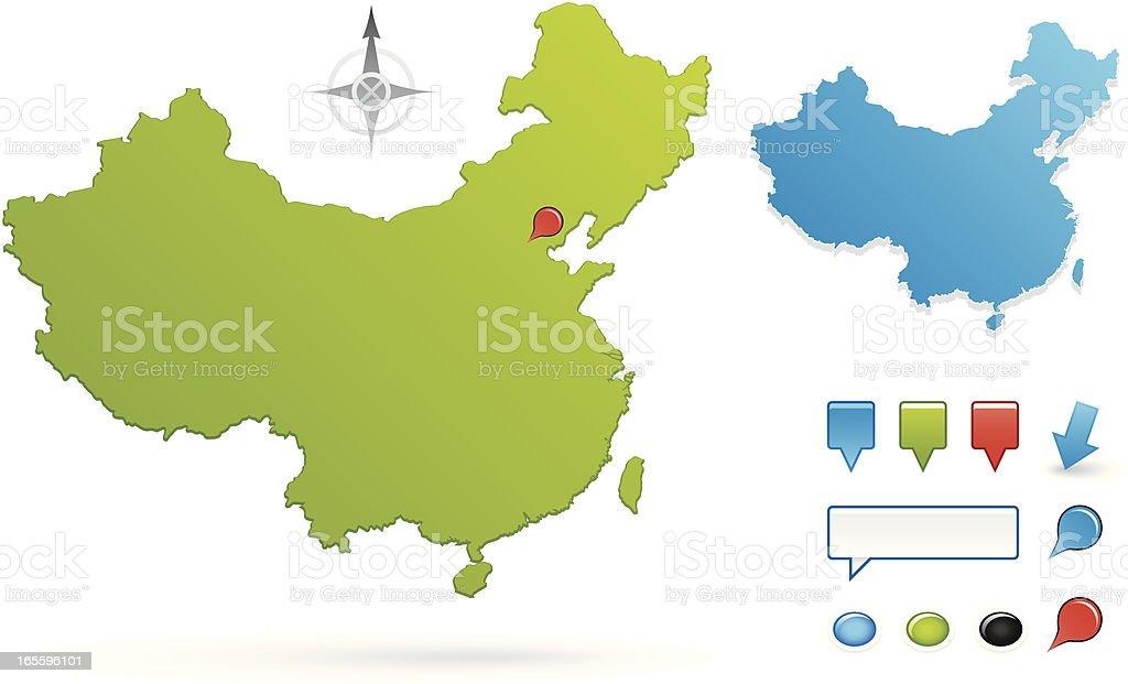 China ilustração de china e mais banco de imagens de cena não-urbana royalty-free