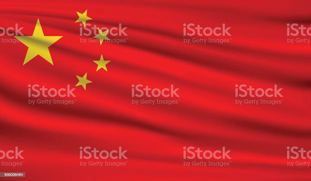 China vector art illustration