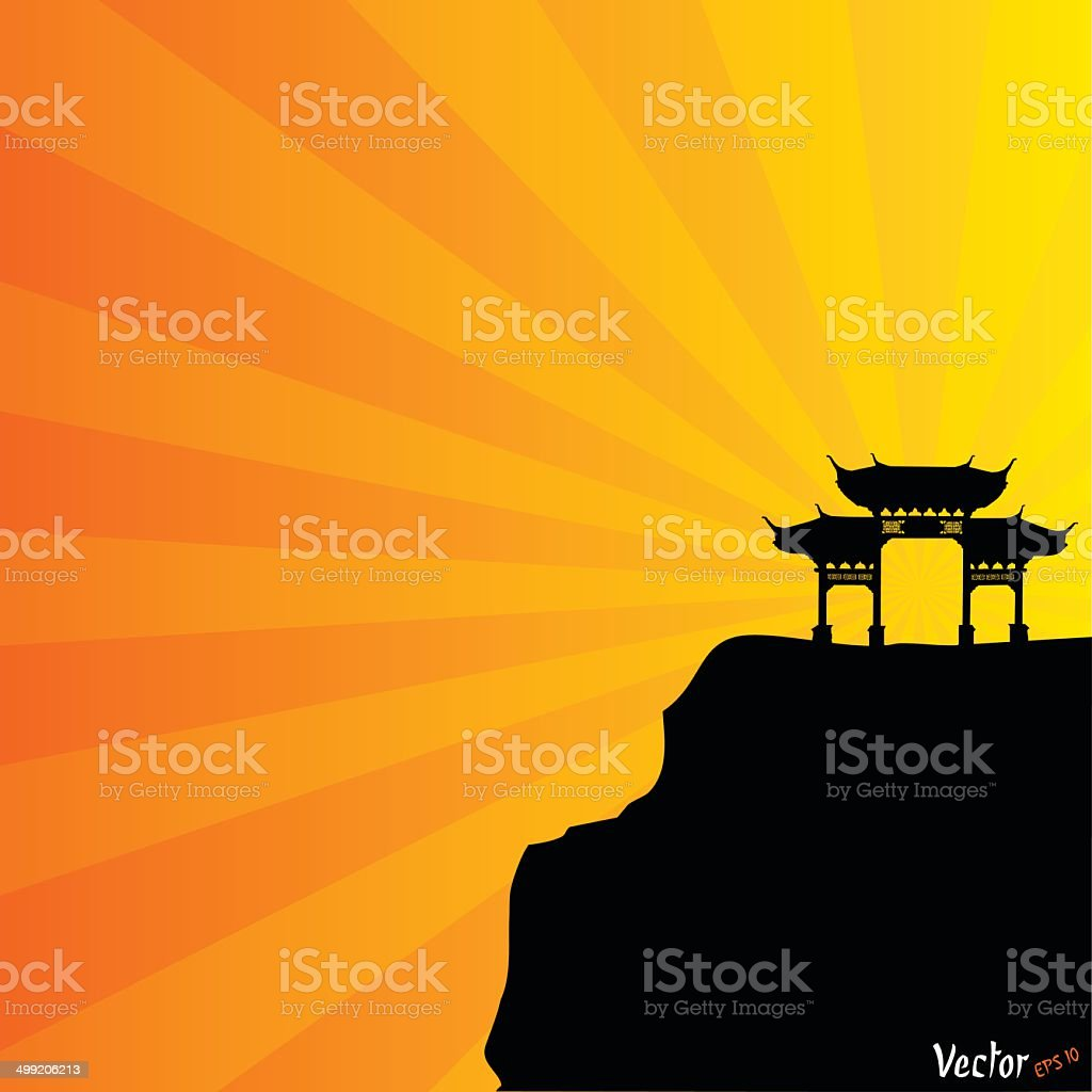 chinese archway royalty-free chinese archway stock vector art & more images of ancient