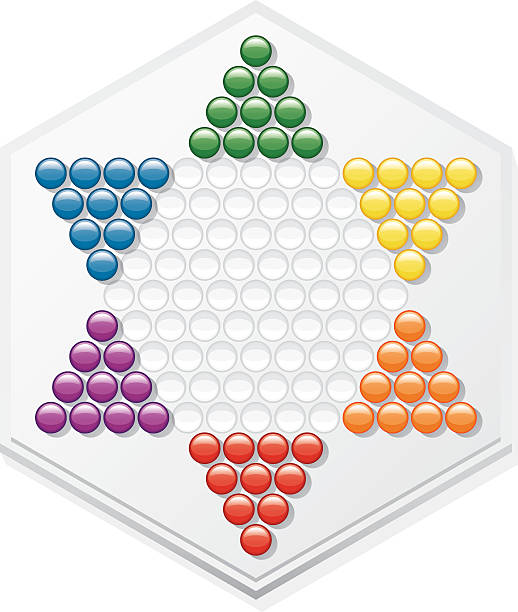 Royalty Free Chinese Checkers Clip Art, Vector Images ...
