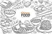 istock Chinese cuisine menu 1247359751