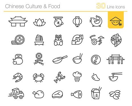 Chinese Culture & Food // Line Premium