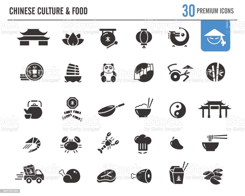 Chinese Culture & Food // Premium Series vector art illustration