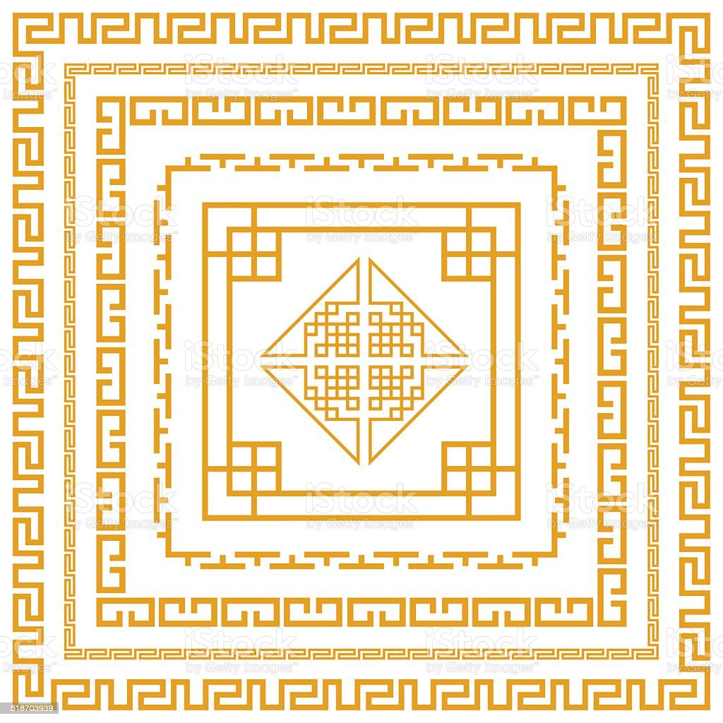 Chinese decorative frame stock vector art more images of chinese decorative frame royalty free chinese decorative frame stock vector art amp more images jeuxipadfo Image collections