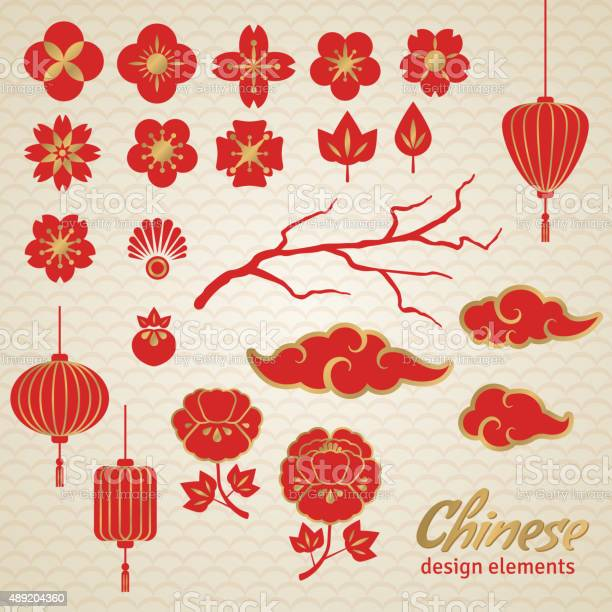 Chinese decorative icons clouds flowers and chinese lights vector id489204360?b=1&k=6&m=489204360&s=612x612&h=pdxnlhezcucfsonzxeadygr kmyp6mbanuuzbvnwsm4=