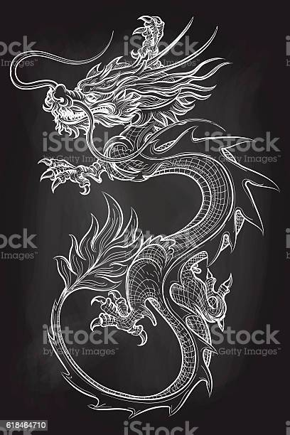 Chinese dragon on chalkboard backdrop vector id618464710?b=1&k=6&m=618464710&s=612x612&h=jyffuuoglzs6ol8t yd3tkg zui6f46gqwzpmn2l2w4=
