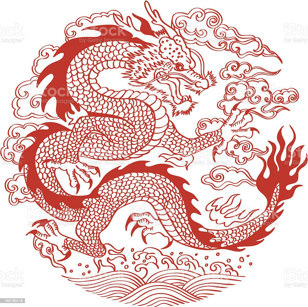 chinese dragon royalty free chinese dragon stock vector art more images of animal