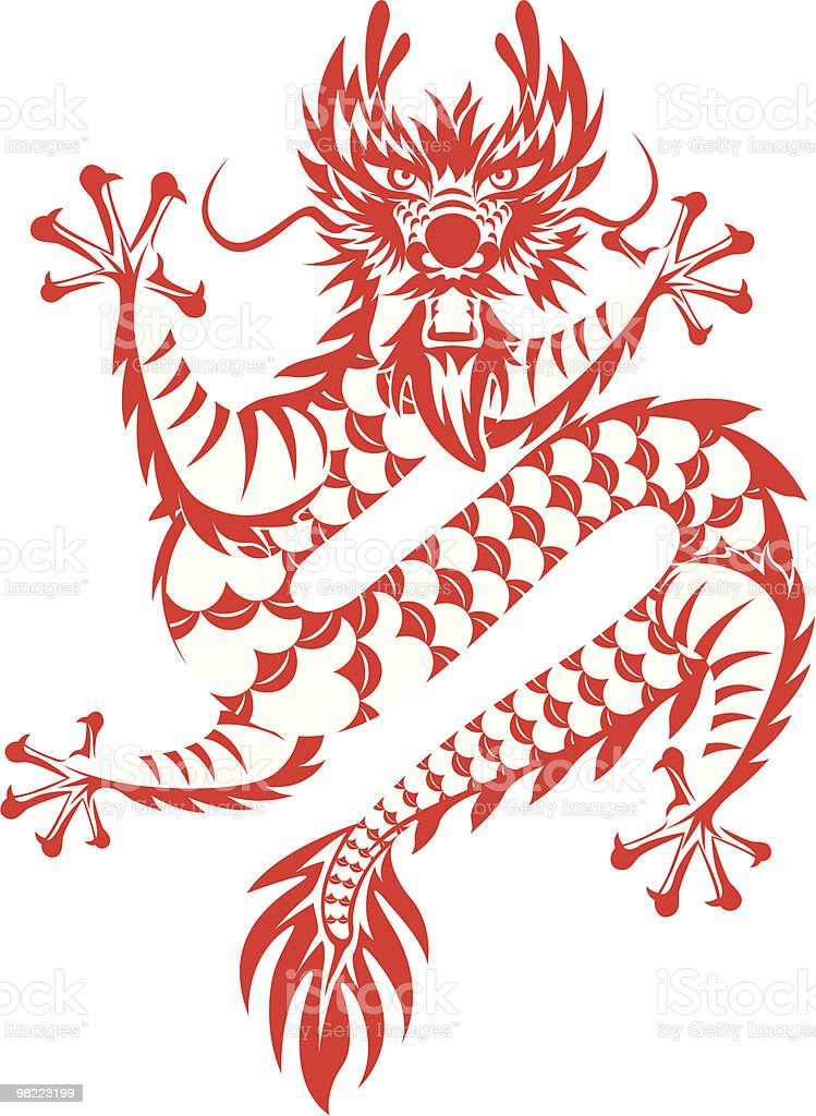 Chinese dragon royalty-free chinese dragon stock vector art & more images of astrology sign