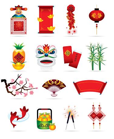 Chinese Festive Icons