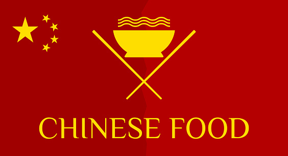 Chinese food. Vector illustration