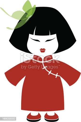 istock Chinese Girl 165033332