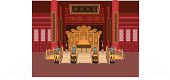 Chinese imperial throne