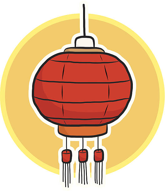 Royalty Free Chinese Lantern Festival Clip Art, Vector ...