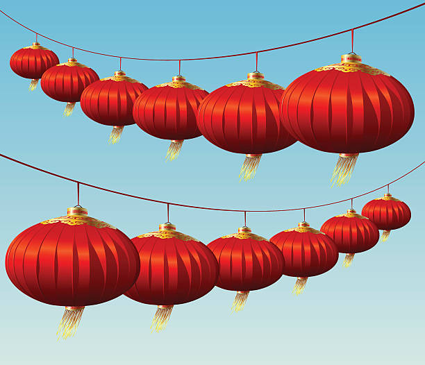 47c6a8a8f0590a Top Chinese Silk Lanterns vector images
