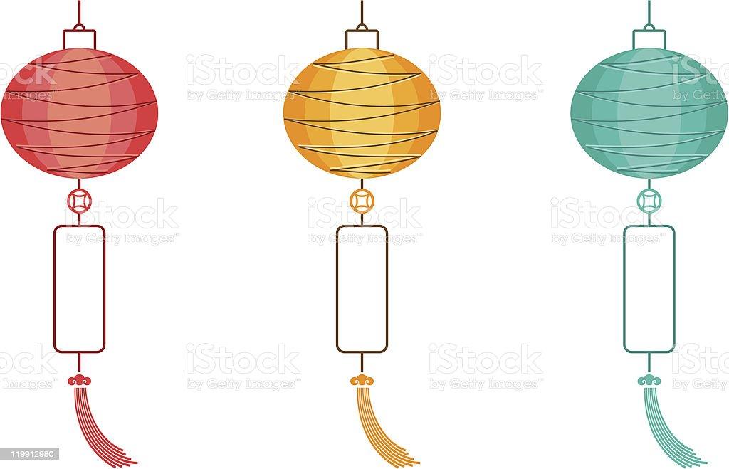 Chinese Lanterns Royalty Free Stock Vector Art Amp