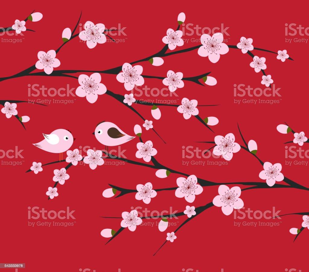 中国の旧正月花や鳥 お祝いのベクターアート素材や画像を多数ご用意