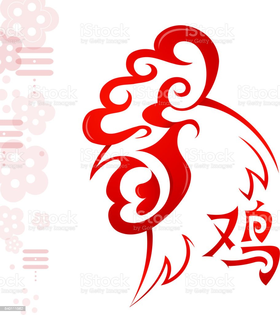 Chinese New Year 2017 Greeting Card Design Stock Vector Art More