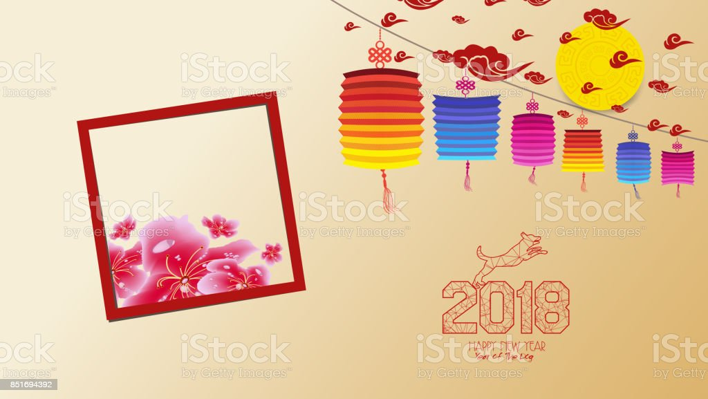 chinese new year 2018 with blossom wallpapers year of the dog royalty free chinese
