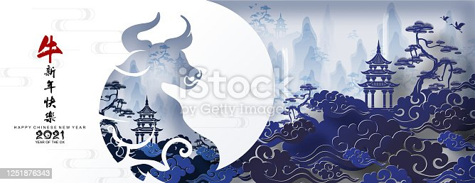 istock Chinese new year 2021. 1251876343