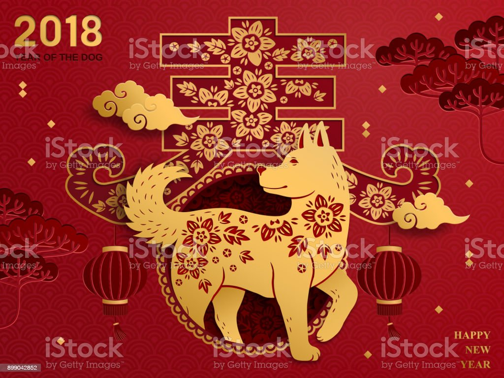 Chinese new year art vector art illustration