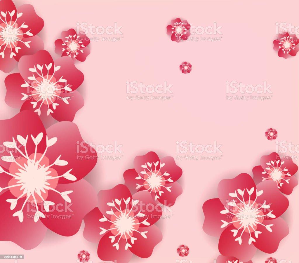 chinese new year background blooming sakura branches royalty free chinese new year background blooming sakura