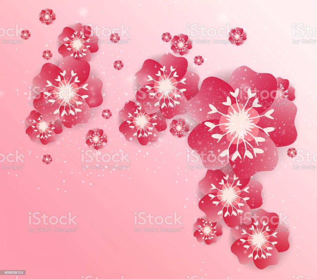 chinese new year background blossom sakura branches royalty free chinese new year background blossom sakura