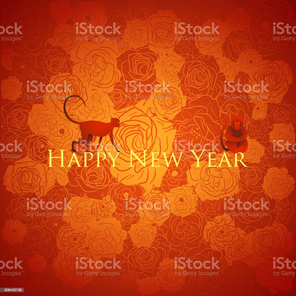 chinese new year background floral design vector illustration royalty free chinese new year