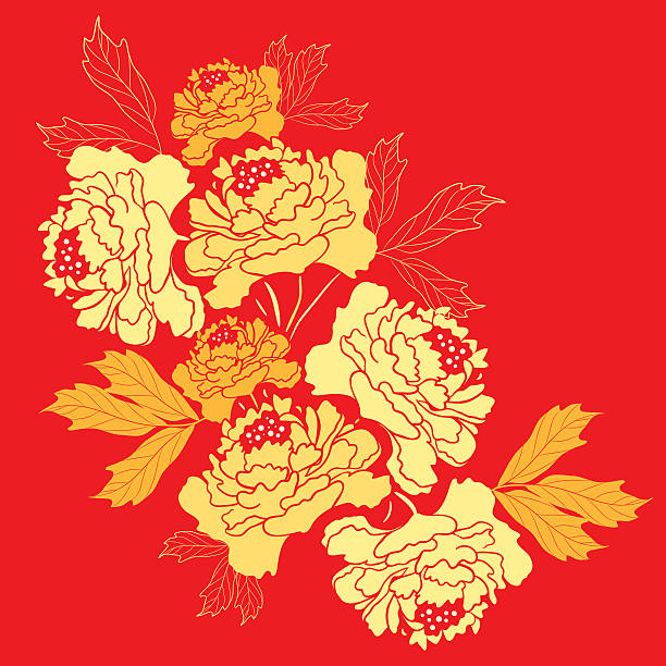 Royalty Free Chinese New Year Flower Clip Art, Vector ...