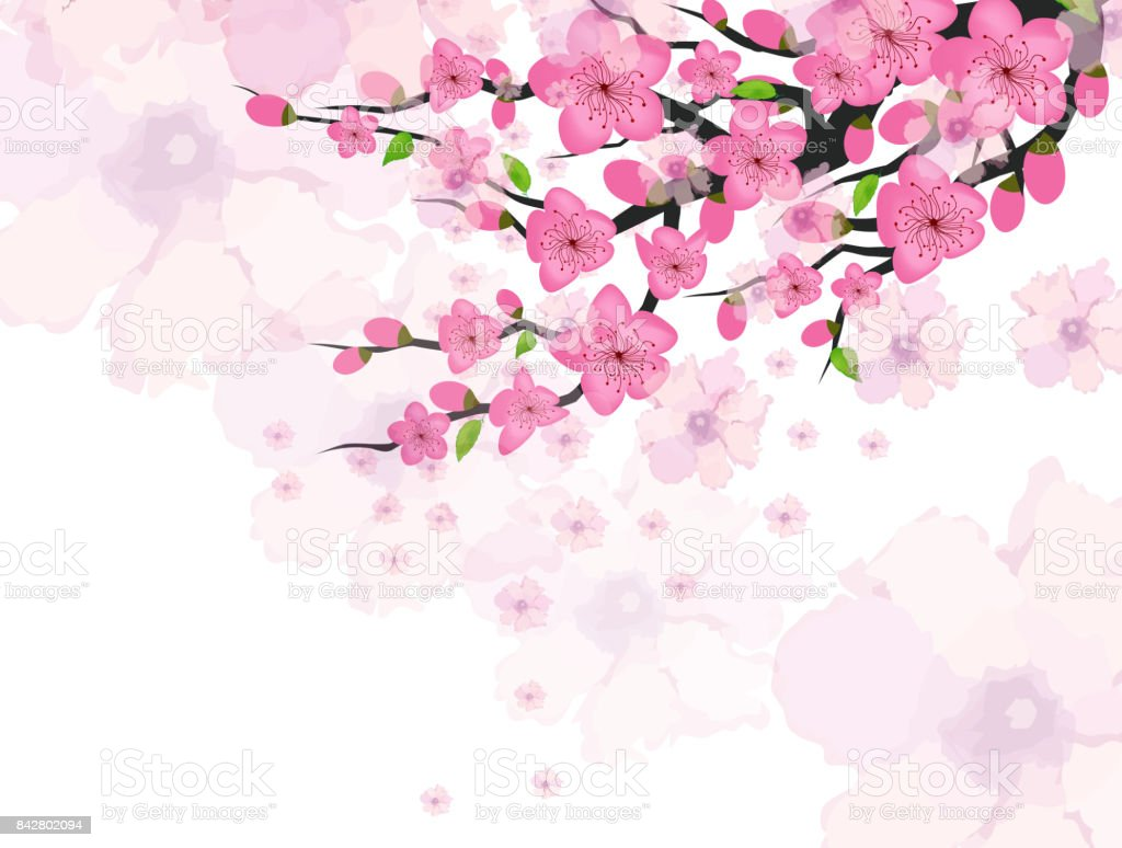 Chinese new year card with plum blossom stock vector art more chinese new year card with plum blossom royalty free chinese new year card with plum kristyandbryce Images