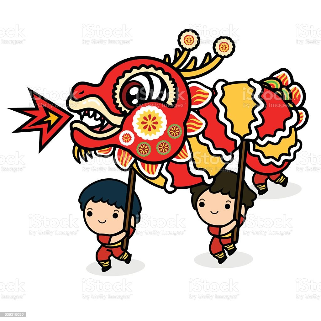 chinese new year festivaldragon dance royalty free chinese new year festivaldragon dance stock
