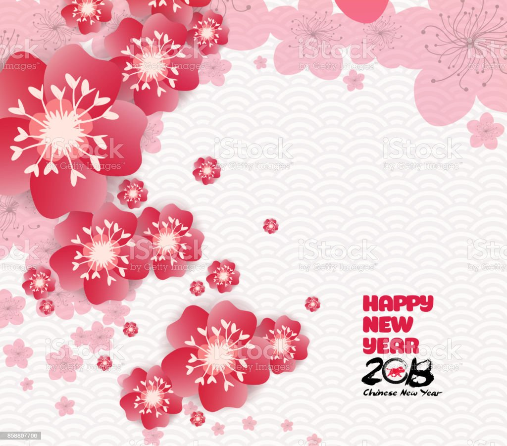 chinese new year graphics blossom background royalty free chinese new year graphics blossom background