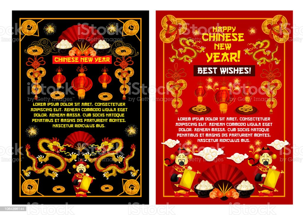 chinese new year greeting card royalty free chinese new year greeting card stock vector art