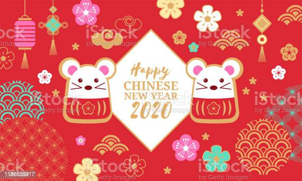 Chinese new year holiday banner design happy new year of the rat 2020 vector id1186635917?b=1&k=6&m=1186635917&s=612x612&h=ggl5v1nuswlxuyxdipgj8kp3eekfrnemxqjoo8dft6i=