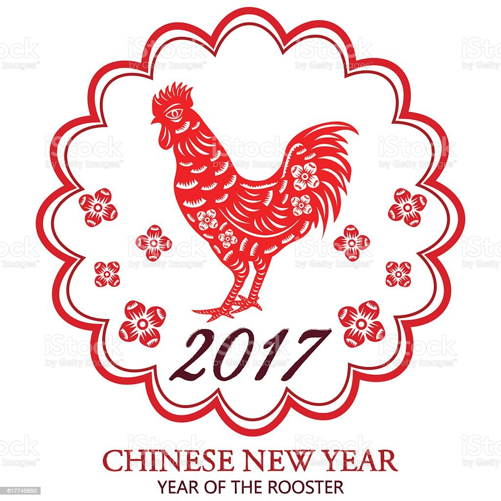 chinese new year of rooster2017 lunar chinese new yearchinese paper cut arts - 2017 Chinese New Year