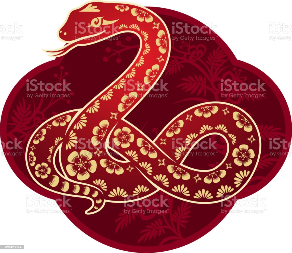 Chinese New Year Snake Art royalty-free chinese new year snake art stock vector art & more images of 2013