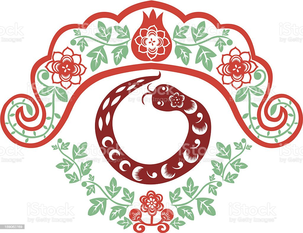 Chinese New Year Snake royalty-free chinese new year snake stock vector art & more images of 2013