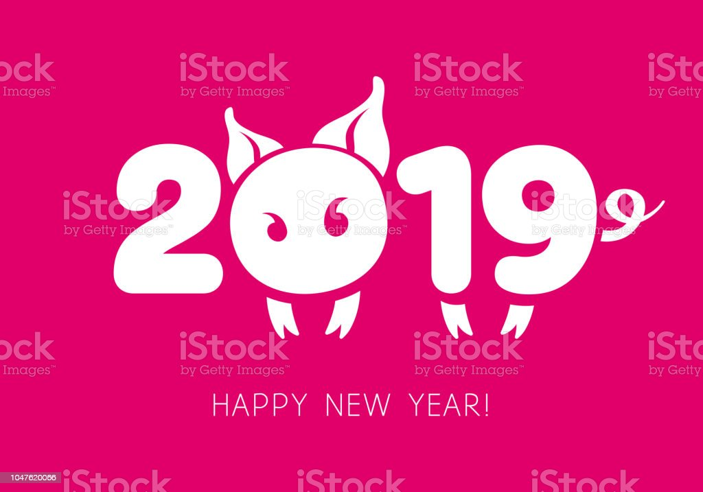 2019 Chinese New Year Symbol Stock Vector Art More Images Of 2019