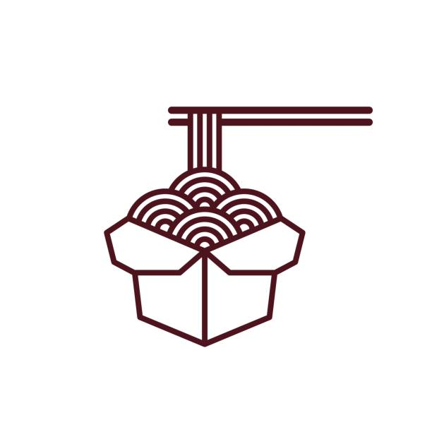 Chinese Take Out Box Illustrations, Royalty-Free Vector ... (612 x 612 Pixel)