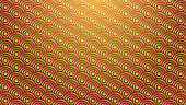 Chinese or Japanese  traditional background with gold circles  . vector image .